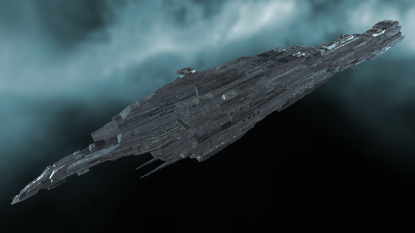 Capital: Eve Online fares well in sci-fi spaceship size comparison chart