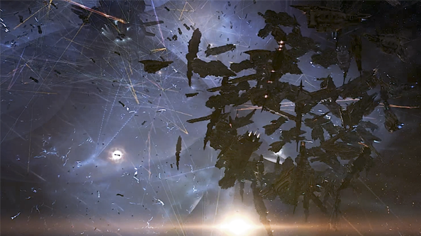 Eve Online saw its largest battle in history, with more than 4,000 ships sailing into the black