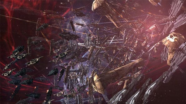 Watch one of the largest battles in Eve's history unfold