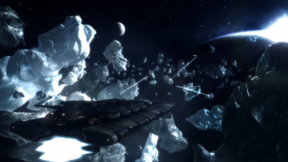 """Eve Online Odyssey expansion: """"there's like 1/900th of ice left compared to what there is right now"""""""