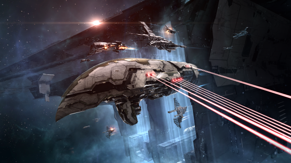 Eve Online battle