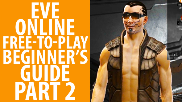Watch us get angry at a misbehaving AI in episode two of our Eve Online beginner's guide