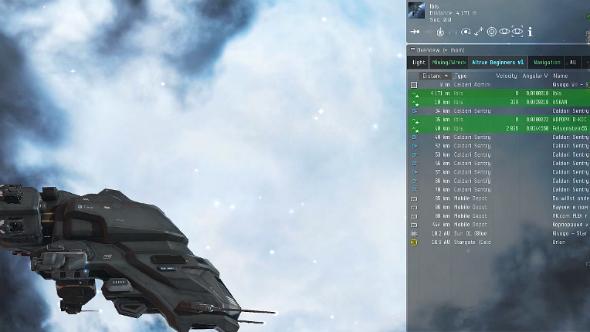 EVE Online navigation