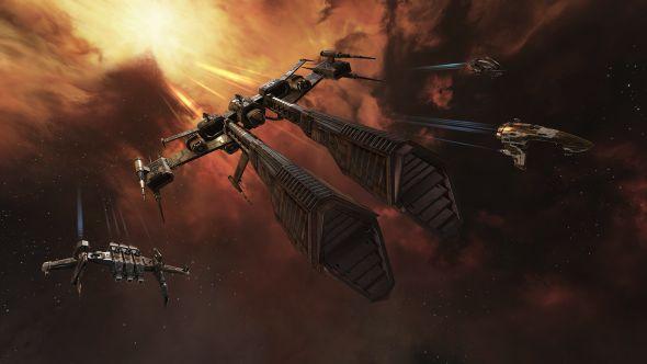 Eve Online ships