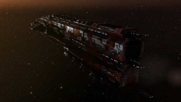 EVE Online ship painting