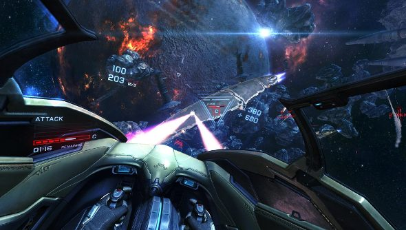 EVE: Valkyrie Oculus Rift's Halo