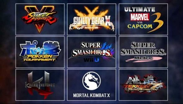 evo 2016 games lineup