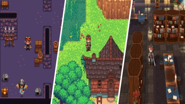 Evoland 2 trailer travels there and back again through RPG history