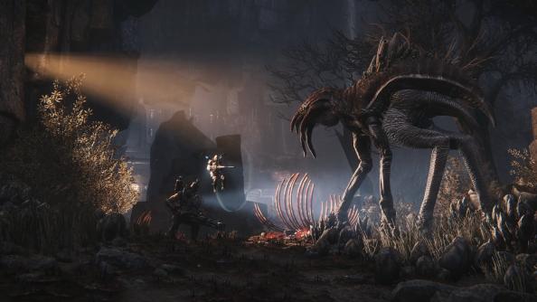 evolve trailer stalker wraith turtle rock 2k games