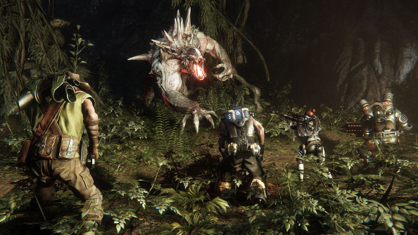 "Evolve's ""Xbox One exclusive"" alpha is coming to PC a day later"