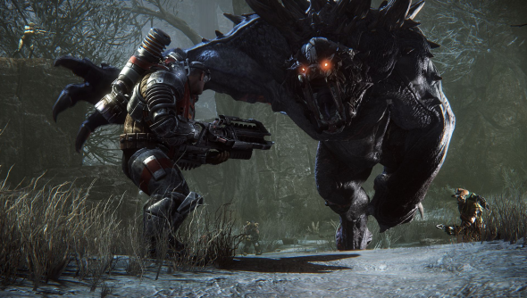 evolve intro video trailer turtle rock 2k games release date
