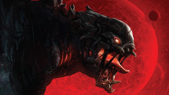 Evolve is the work of Turtle Rock Studios, formerly of Valve.