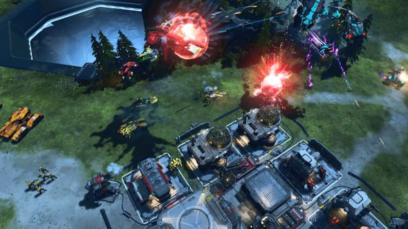 Halo Wars 2 gameplay