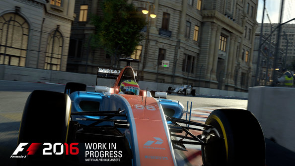 F1 2016 fills the grid with human opponents in 22-car multiplayer