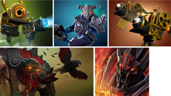A sneak peek at Dota 2's Free to Play Competitor's Pack