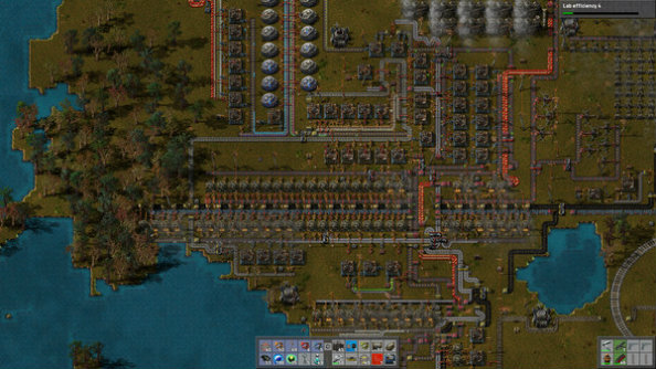 Factorio travels down the conveyor belt and lands on Steam Early Access