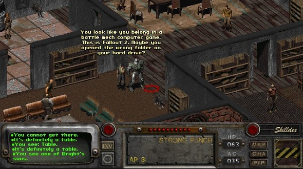 And So We Started Focusing On An Antagonist Who Compared To The Master From Fallout 1 Would Appear In The Game Earlier On The Player Would See Him Doing