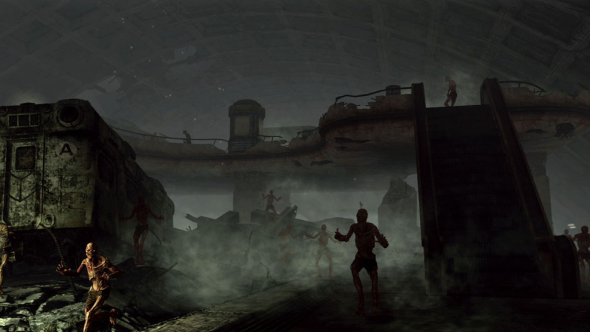 Fallout 3 train tunnels