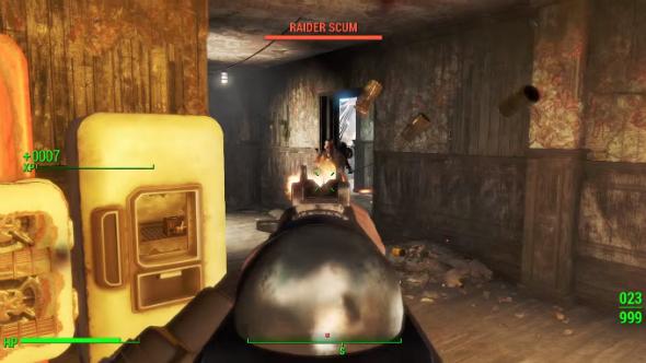 Fallout 4 combat