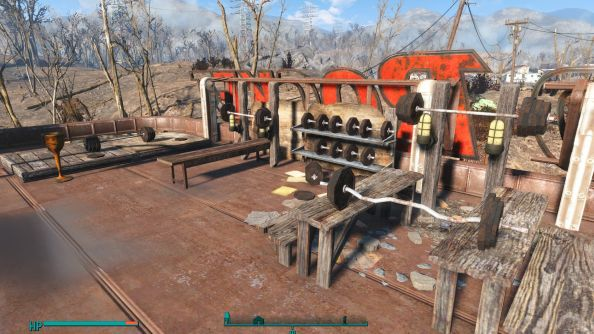 Best Fallout 4 settlements rooftop gym