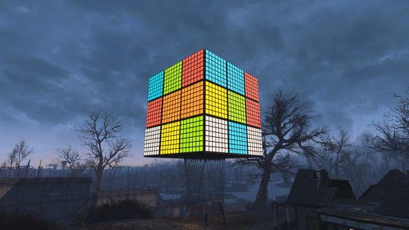 Best Fallout 4 settlements rubiks cube