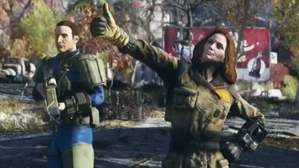 Fallout 76 emotes