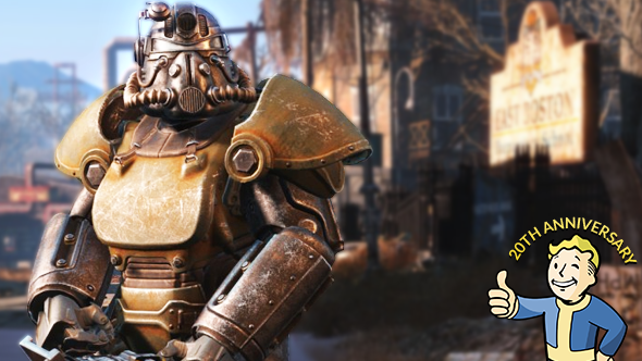 Fallout 4's power armour symbolises how far the series' combat has come