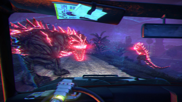 The compellingly ludicrous Far Cry 3: Blood Dragon.