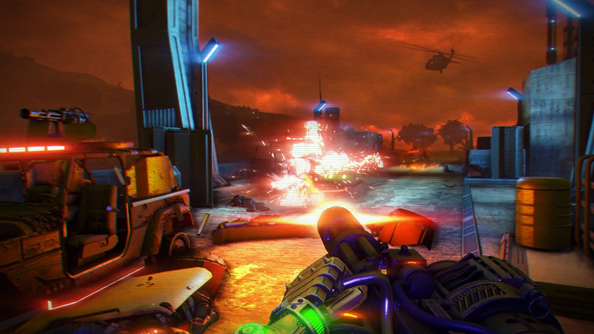 Far Cry 3: Blood Dragon soundtrack and screens are loving homage to Terminator and the 80s