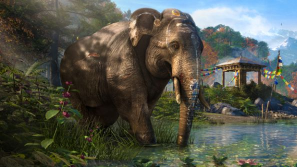 How to take over a Himalayan base using just one of Far Cry 4's elephants
