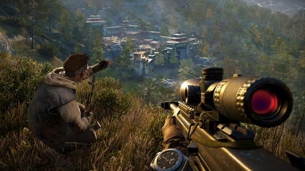 Watch a man and his elephant go clay human shooting in Far Cry 4