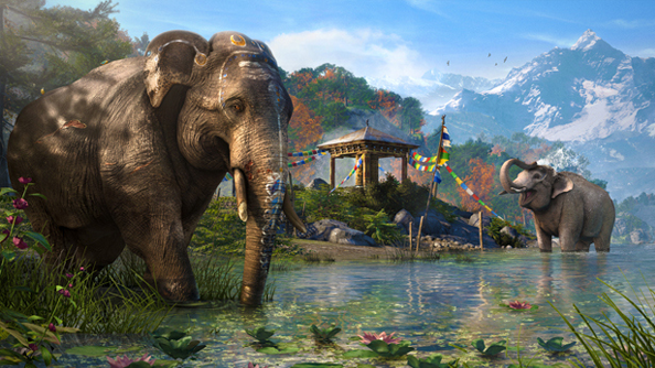 far cry 4 trailer elephant ubisoft
