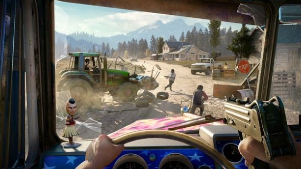 Far Cry 5 driving
