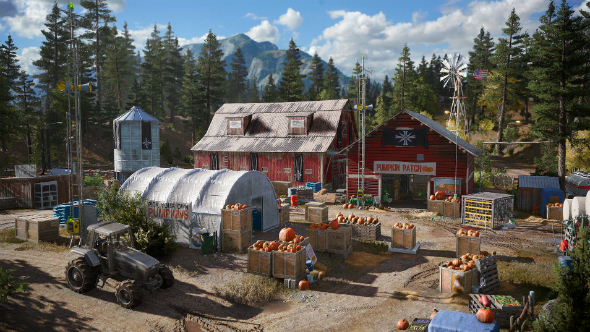 Far Cry 5 setting montana