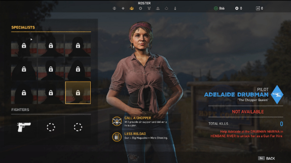 far cry 5 specialists adelaide drubman