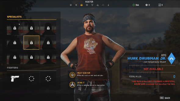 how to unlock hurk far cry 5