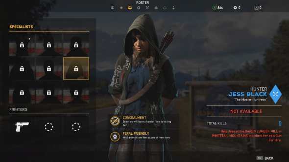 far cry 5 how to unlock jess black