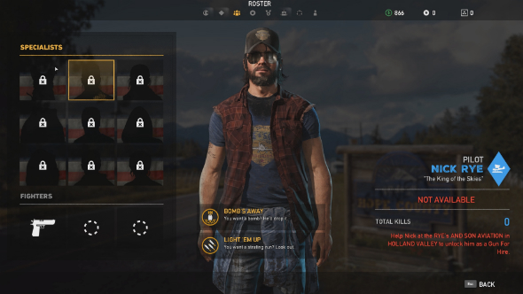 far cry 5 how to unlock nick rye