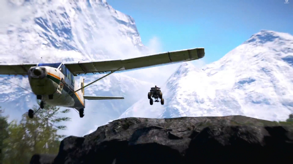 Far Cry 4 trailer reintroduces Pagan Min with kidnapping, torture and an absurd chase sequence