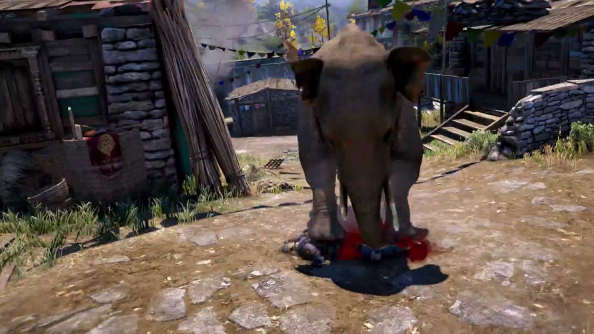 Far Cry 4 trailer reveals elephants to be murderous monsters