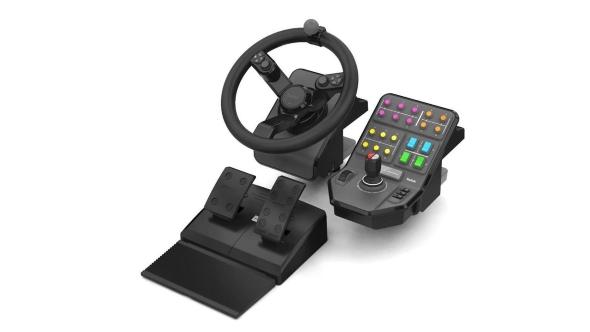 Farm Simulator Heavy Equipment Precision Control System