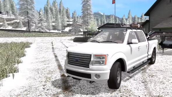Farming Simulator 2017 mods snow
