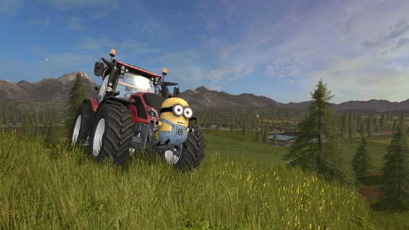 Farming Simulator 2017 mods minion