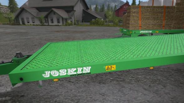 Farming Simulator 2017 mods joskin wago