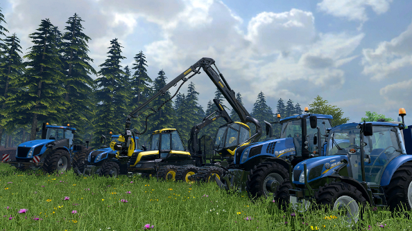 Farming Simulator 15 declares war on trees; launches on October 30th
