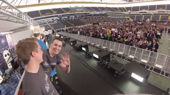 See ESL One Frankfurt from the perspective of a professional Dota 2 player