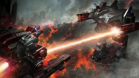 Free games: We have 3000 codes for FeArea, the new mech-filled sci-fi MOBA!