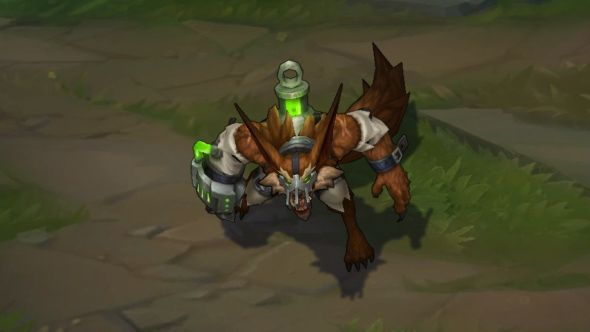 Feral Warwick in-game