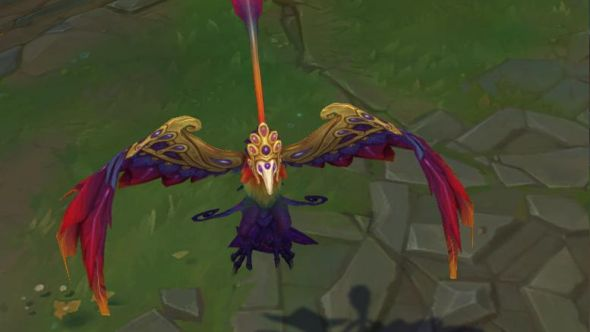 Festival Queen Anivia in-game