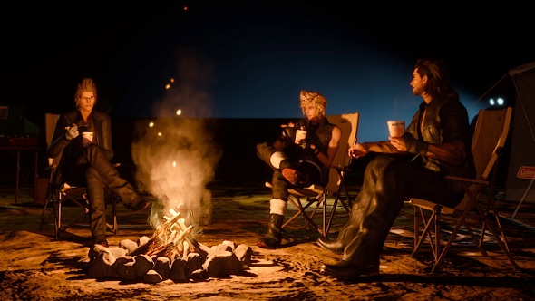 Final Fantasy XV cooking